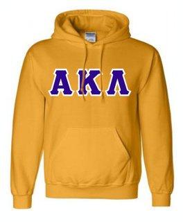 Alpha Kappa Lambda Sewn Lettered Sweatshirts