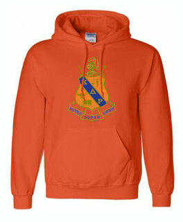 Color Greek Crest Sweatshirt