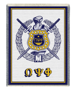 Greek Crest - Shield Afghans