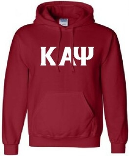 Kappa Alpha Psi letter Hoodie