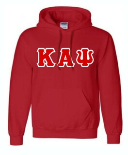Kappa Alpha Psi Sewn Lettered Sweatshirts