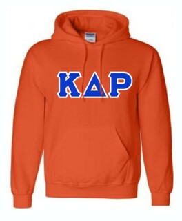 Kappa Delta Rho Sewn Lettered Sweatshirts