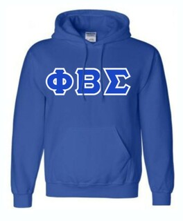 Phi Beta Sigma Lettered Sweatshirts