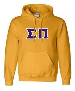 Sigma Pi Sewn Lettered Sweatshirts
