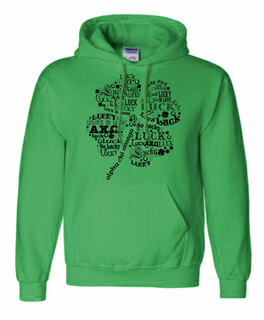 """So Lucky"" Sorority Hoodie"