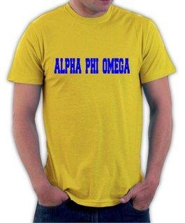 Alpha Phi Omega College Shirt