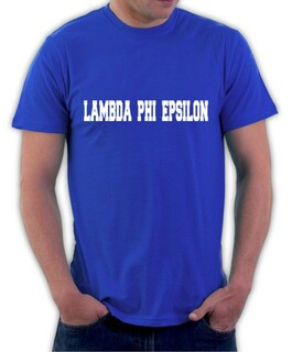 Lambda Phi Epsilon College Shirt