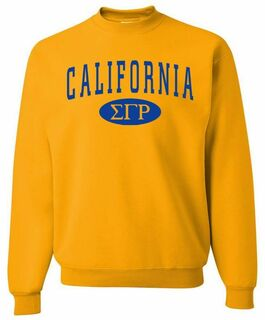 Sigma Gamma Rho State Sweatshirt