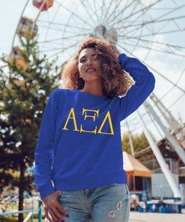 Alpha Xi Delta University Crewneck Sweatshirt