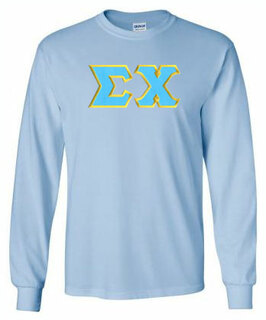 DISCOUNT Sigma Chi Lettered Long sleeve