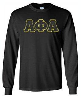 Alpha Phi Alpha Lettered Long Sleeve Shirt