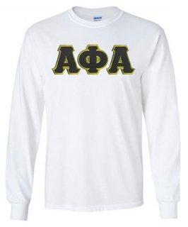 Alpha Phi Alpha Long Sleeve T-shirts