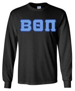 Beta Theta Pi Lettered Long Sleeve Shirt