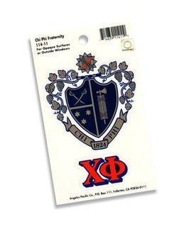 Chi Phi Crest Decal sticker