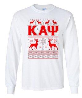 Kappa Alpha Psi Ugly Christmas Sweater Long Sleeve T-Shirt