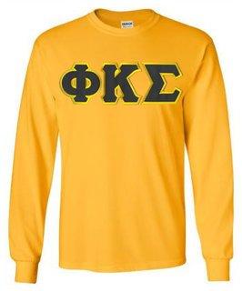 Phi Kappa Sigma Lettered Long Sleeve Shirt