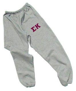Sigma Kappa Lettered Thigh Sweatpants