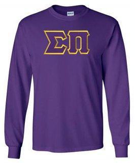 Sigma Pi Lettered Long Sleeve Shirt