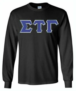 Sigma Tau Gamma Lettered Long Sleeve Shirt