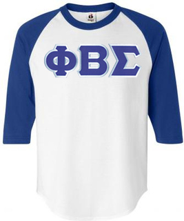 DISCOUNT- Phi Beta Sigma Lettered Raglan T-Shirt