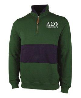 Delta Sigma Phi Greek Letter Quad Pullover