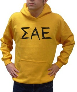 Sigma Alpha Epsilon Lettered Scribble Shirt