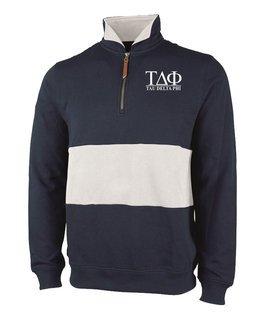 Tau Delta Phi Greek Letter Quad Pullover