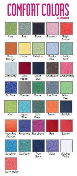 Comfort Colors Greek Varsity Crewneck