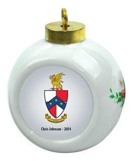 Beta Theta Pi Christmas Ornaments