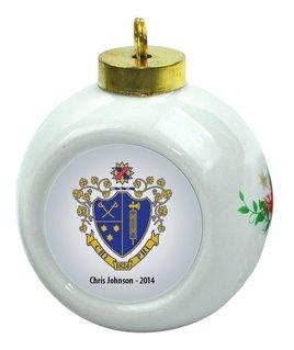 Chi Phi Christmas Ornaments