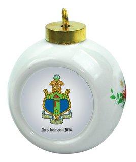 Delta Gamma Christmas Ornaments