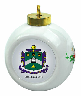 Delta Sigma Phi Christmas Ornaments