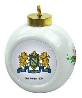 Phi Lambda Chi Christmas Ornaments