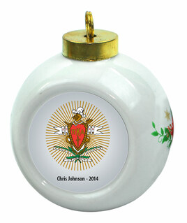 Pi Kappa Alpha Christmas Ornaments