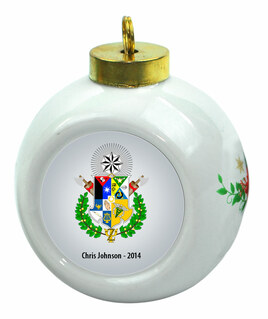 Zeta Psi Christmas Ornaments