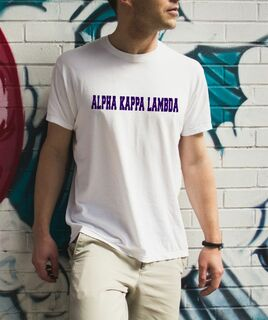 Alpha Kappa Lambda college tee