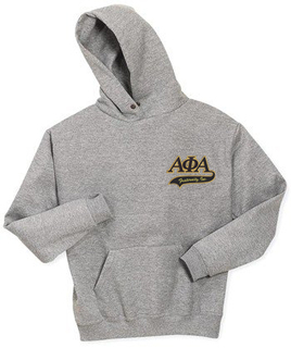 DISCOUNT-Alpha Phi Alpha Hoody - Tackle Twill Tail