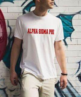 Alpha Sigma Phi college tee