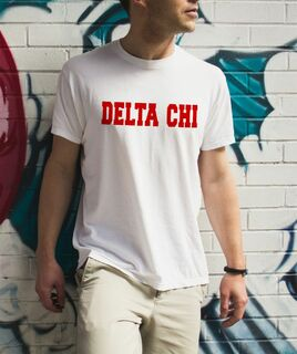 Delta Chi college tee