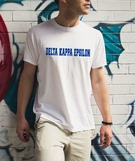 Delta Kappa Epsilon college tee
