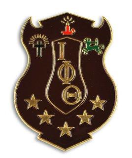 Iota Phi Theta Die Cut Car Badges