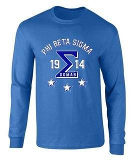 Phi Beta Sigma 2 Day Ship SIGMA Long Sleeve Tee