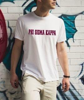 Phi Sigma Kappa college tee