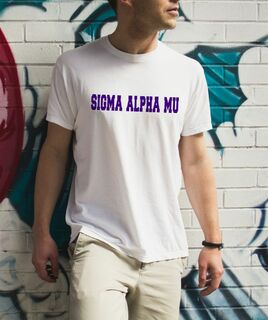 Sigma Alpha Mu college tee