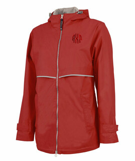 Alpha Chi Omega New Englander Circle Monogram Rain Coat