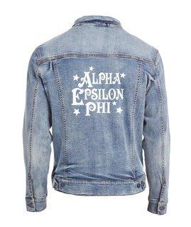 Alpha Epsilon Phi Star Struck Denim Jacket