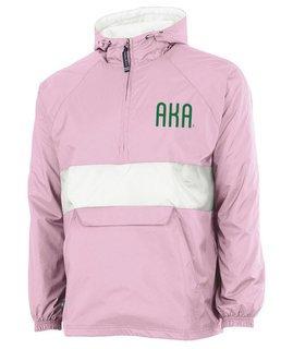 Alpha Kappa Alpha Fabulous Font Pullover Anorak