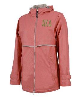 Alpha Kappa Alpha New Englander Nickname Rain Coat