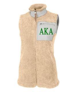 Alpha Kappa Alpha Newport Fleece Vest