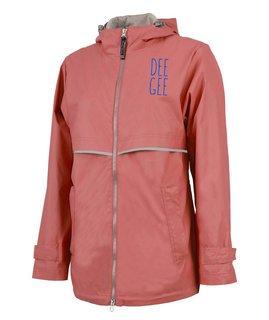 Delta Gamma New Englander Nickname Rain Coat
